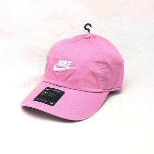 Nike Heritage86 Strapback Hat AJ3651-693 Pink/Whit